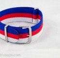 Blue/Red/White NATO Band 20mm