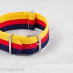 Yellow/Red/Blue NATO Band 20mm