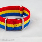 Red/Yellow/Blue NATO Band 20mm